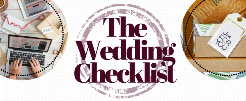 The Wedding Checklist Header