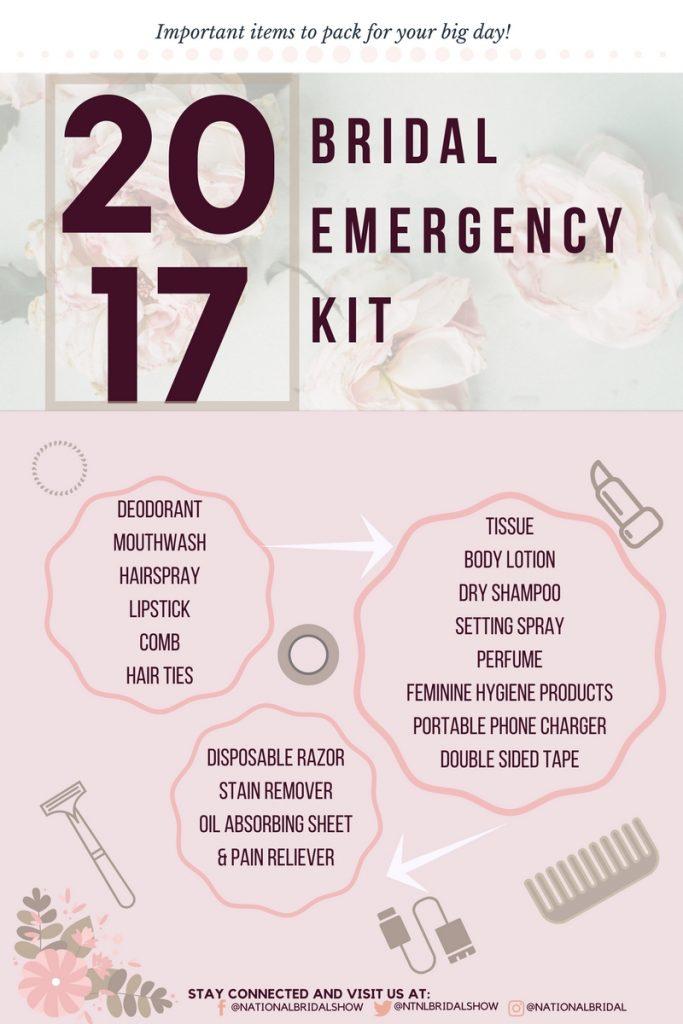 2017 Bridal Emergency Kit