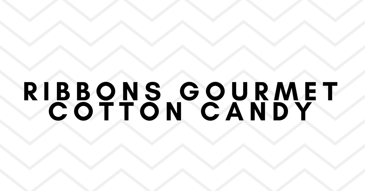 Ribbons Gourmet Cotton Candy