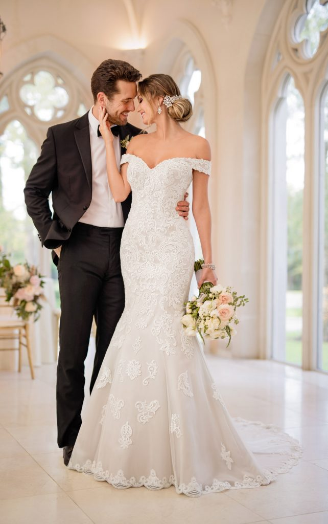 Stella York Dress Couple