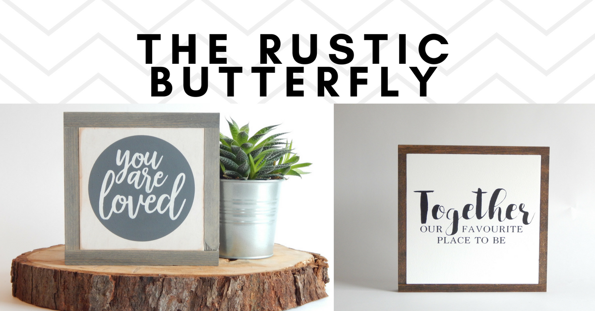 The Rustic Butterfly