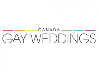 Canada gay weddings logo