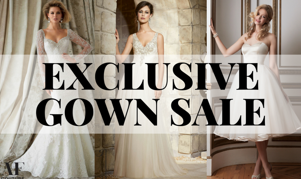 EXCLUSIVE GOWN SALE