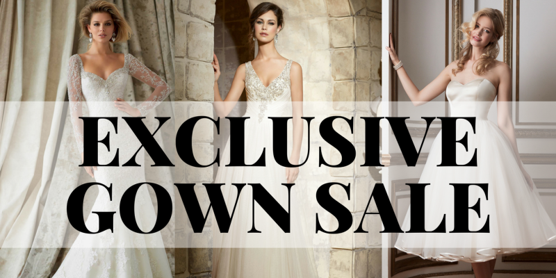 Exclusive Gown Sale by Bridals Direct