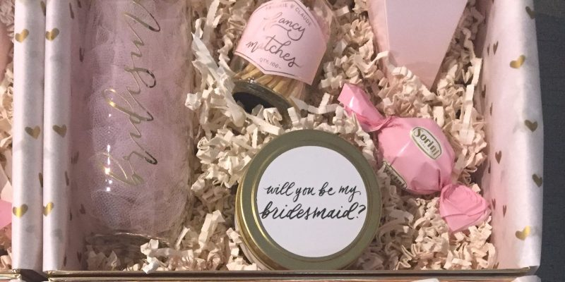 Posh Home Box: Unboxing the 'Bridesmaid Proposal Box'