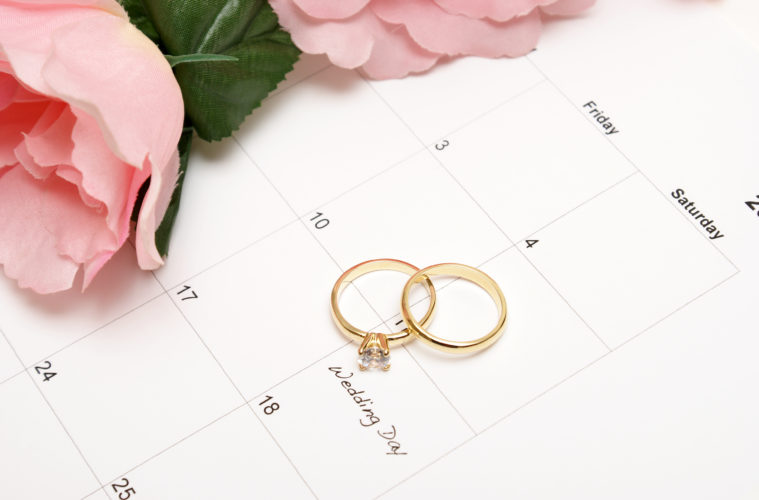 Things to Consider Before Choosing Your Wedding Date