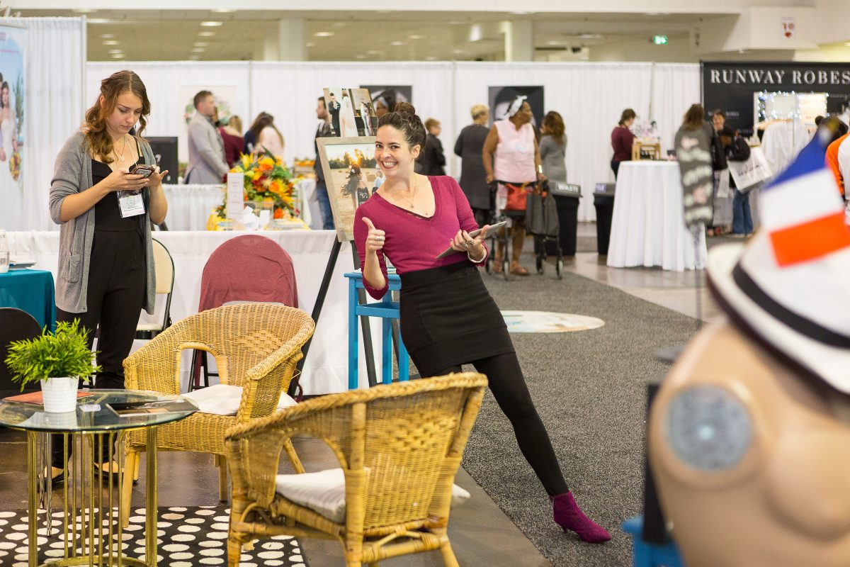 Scandaleuse Weddings at the National Bridal Show